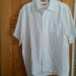 Martin Gordon 100% linen shirt